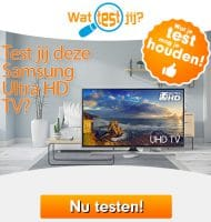 Test Gratis een Samsung Ultra HD TV
