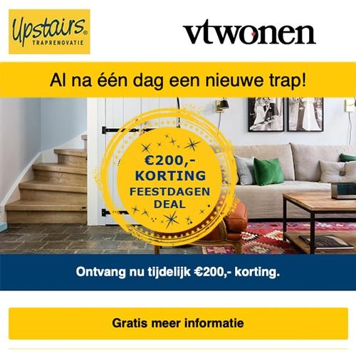 Upstairs Traprenovatie Gratis advies en €200 korting