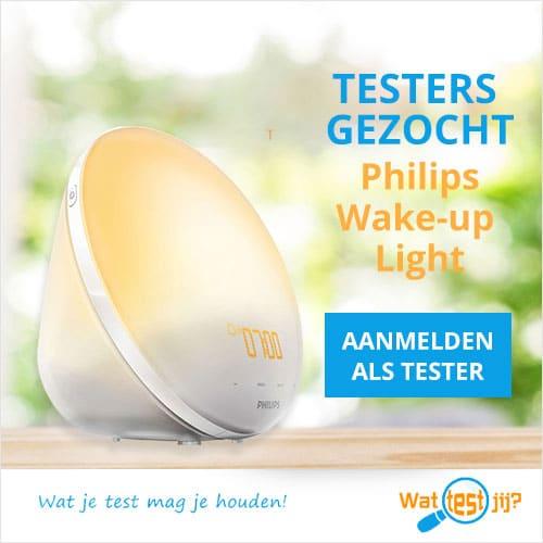Ben jij tester van deze Philips wake up light