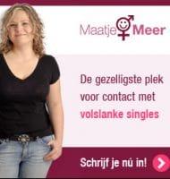 Gratis inschrijven bij MaatjeMeer match dating