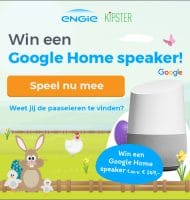 Win een Google Home speaker t.w.v. € 149.-