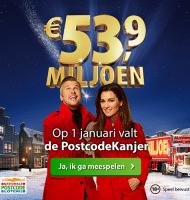 Postcode loterij vakantiegeld met de PostcodeKanjer