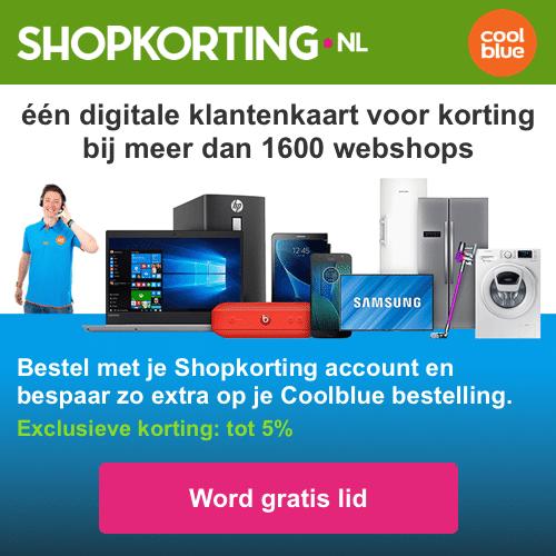 Shopkorting bij 1600 webwinkels   Pak Gratis je voordeel
