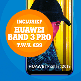 Wil je een gratis Huawei Band 3 Pro t.w.v. € 99,- bij een Tele2 aanbieding? Je betaalt slechts € 15.- per maand voor een maand abonnement.