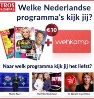 TrosKompas actie met Gratis Wehkamp Cadeaubon