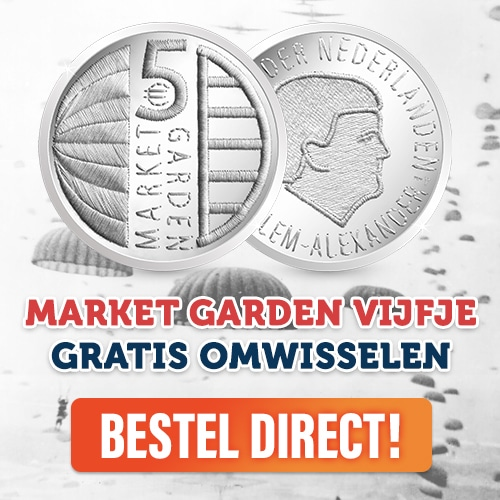 Nationale Omwisselactie met het Market Garden Vijfje