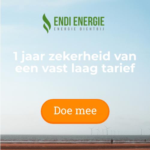 Endi Energie maakt geen winst op stroomverbruik