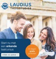 Bij Laudius 15 dagen gratis proberen en 50% korting