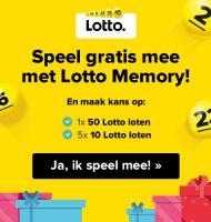 Win de Lottotrekking en Speel mee met Lotto Memory