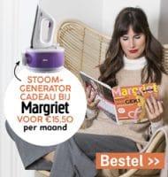 Margriet magazine met gratis Stoomgenerator