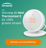 Gratis slimme Nest thermostaat t.w.v € 219.-