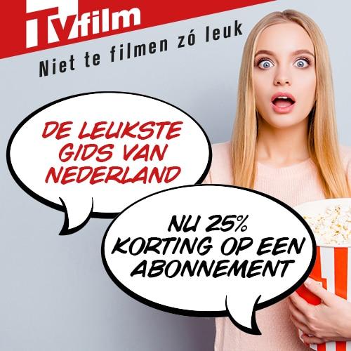 Tvfilm magazine met welkomstkorting van 25%