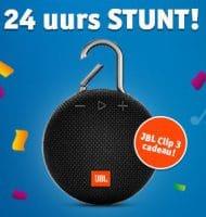 Vriendenloterij 24 uurs stunt met Gratis JBL Clip 3 speaker