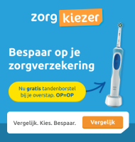Gratis elektrische tandenborstel bij Zorgkiezer