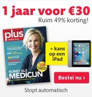 Gratis luxe iPad winnen bij Plus Magazine