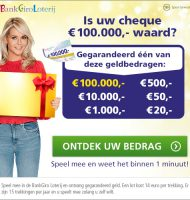 Gratis meespelen en kans maken op € 100.000,-