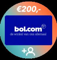 Met het Nationaal Onderzoek Energie maak je kans op een Bol.com cadeaukaart t.w.v. € 200.-.