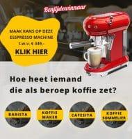 Hoe drink jij je Gratis koffie? Win een SMEG espresso machine