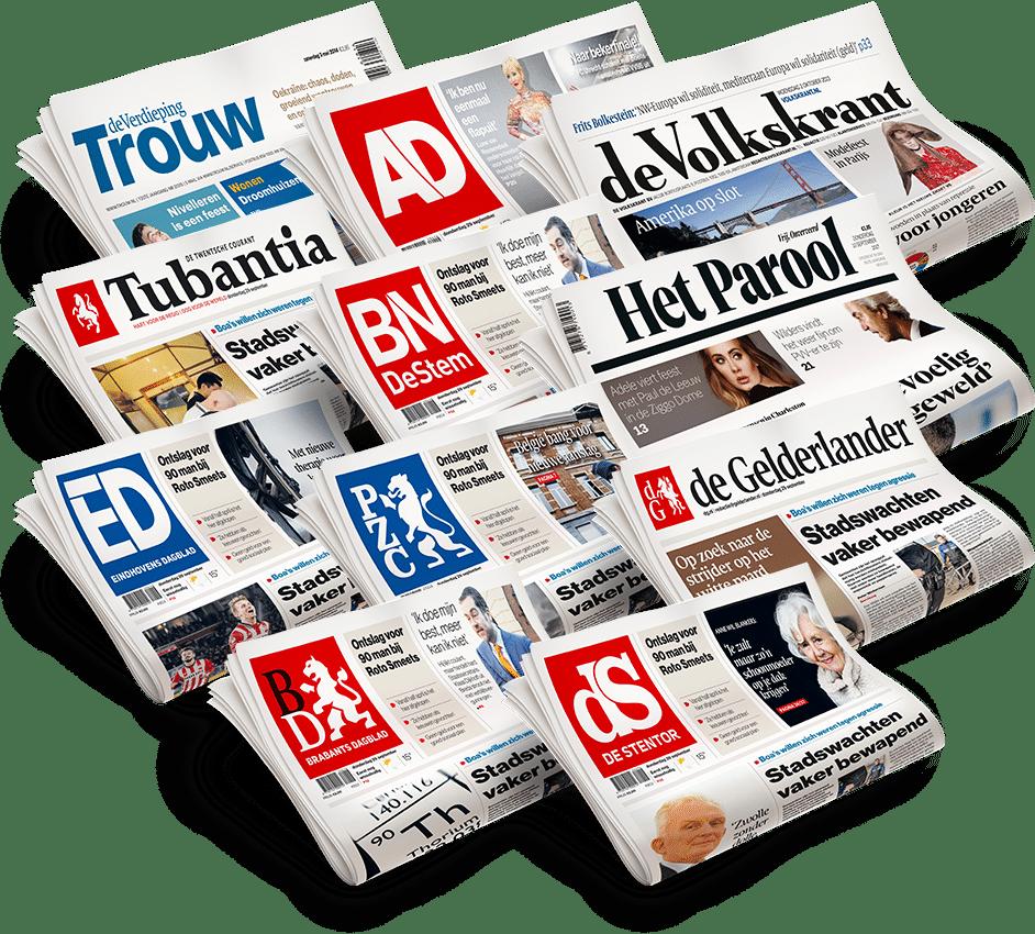 Laatste nieuws lezen met deze Gratis krant?