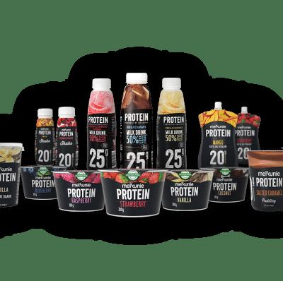 Probeer gratis Melkunie Protein Producten