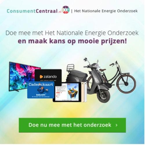 Win leuke prijzen met Nationaal Onderzoek Energie