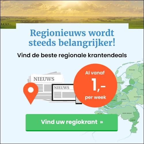 Gratis de regionale krant lezen