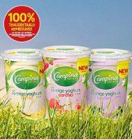Probeer gratis Campina Romige Yoghurt