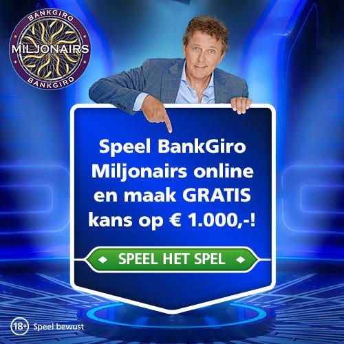 Speel Gratis het spel Bankgiro Miljonairs