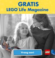 Ontvang gratis het LEGO Life magazine!
