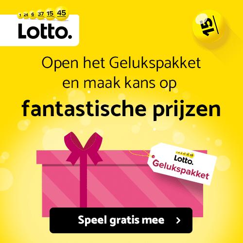 Ligt jouw geluk in dit Lotto Gelukspakket?
