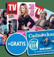 Tv Krant aanbieding met Gratis Bol.com cadeaubon