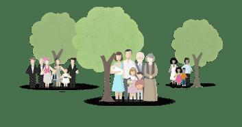Gratis je eigen familiestamboom maken