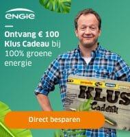 Bij ENGIE Gratis kluscadeaukaart t.w.v. € 100,-