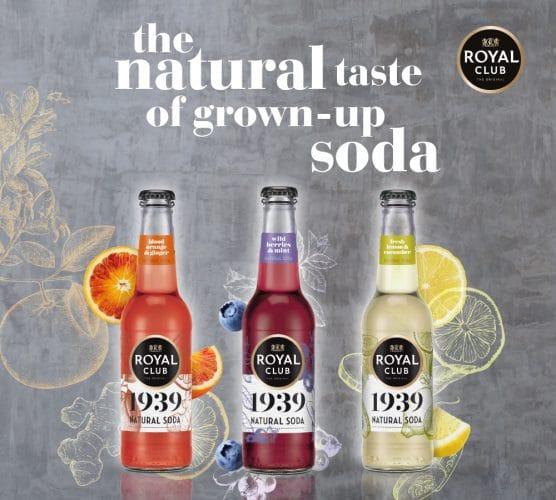 Gratis Royal Club 1939 Natural Soda proberen