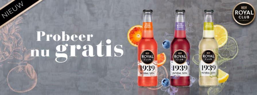 Gratis Royal Club Natural Soda proberen