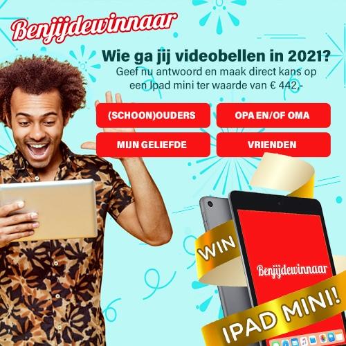Ben jij de winnaar? Ontvang een iPad mini cadeau