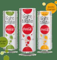 Probeer Coca-Cola light taste nu gratis