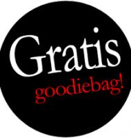 Gratis Goodiebags t.w.v. 50 euro!