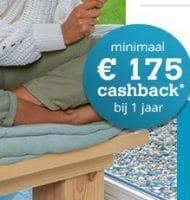 Extra cashback van € 175.- bij een jarig abonnement