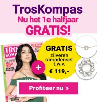 Gratis zilveren sieradenset van Abrazi t.w.v. € 119.-