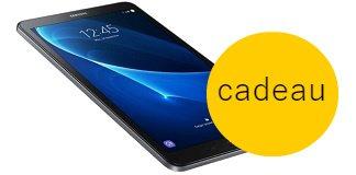 Gratis Samsung Galaxy tab bij Vattenfall energie
