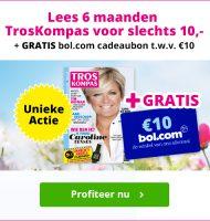 Gratis Bol.com cadeaukaart bij de Troskompas