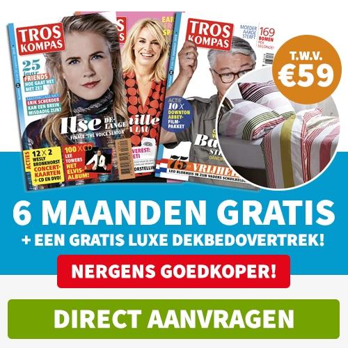 Troskompas gratis Dekbedovertrek t.w.v. € 59.-.