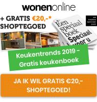 Gratis € 20,- shoptegoed + brochures
