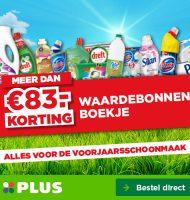 PLUS waardebonnen t.w.v. € 83,- en gratis verzending