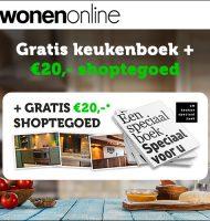 Gratis € 20,- shoptegoed bij Gratis brochures