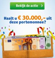 Vriendenloterij met gegarandeerd €15,- en kans op € 30000.-