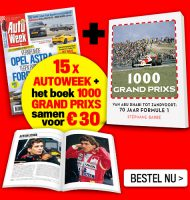 Gratis Autoweek 1000 GRAND PRIXS Boek