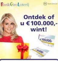 Hoe hoog is je prijzenpot in de Bank Giro loterij