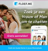 Floef helpt je daten met gratis inschrijving